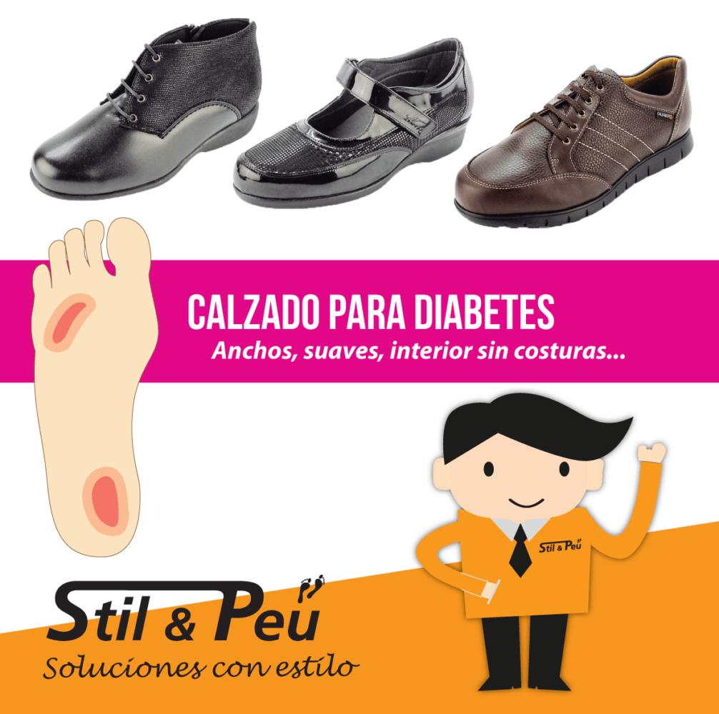 Zapatos para diabetes