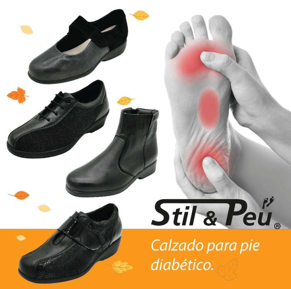 zapatos para diabético